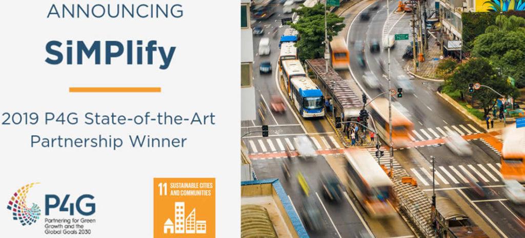 SiMPlify wins a P4G Award