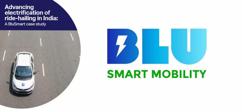 Pokrok velektrifikaci při jízdě vIndii: případová studie BluSmart (anglicky)