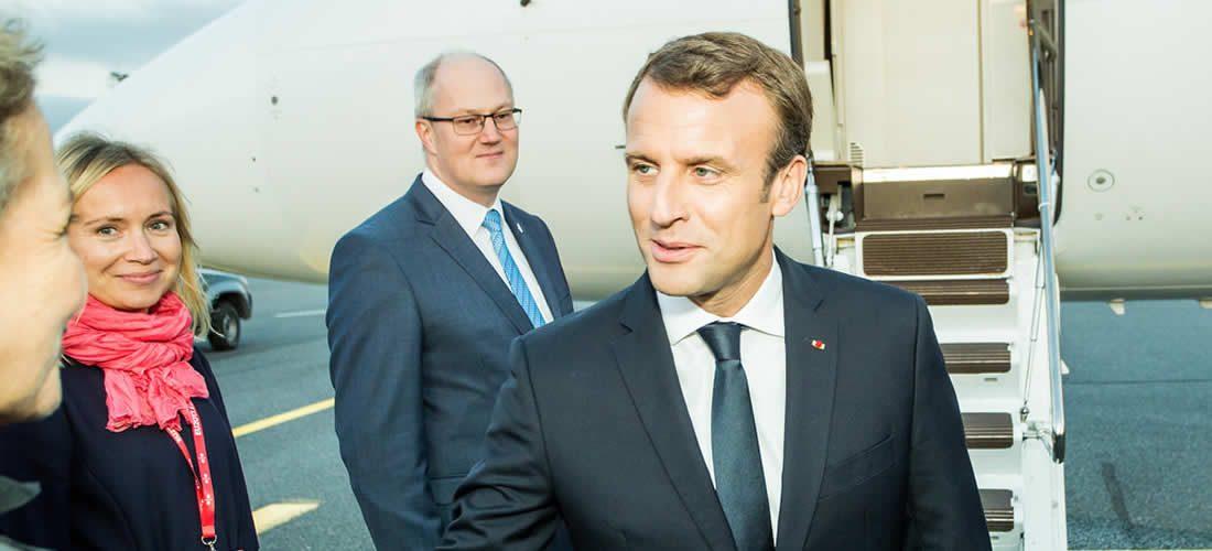 Macron slíbil 700 milionů eur na financování solárních projektů po celém světě (anglicky)