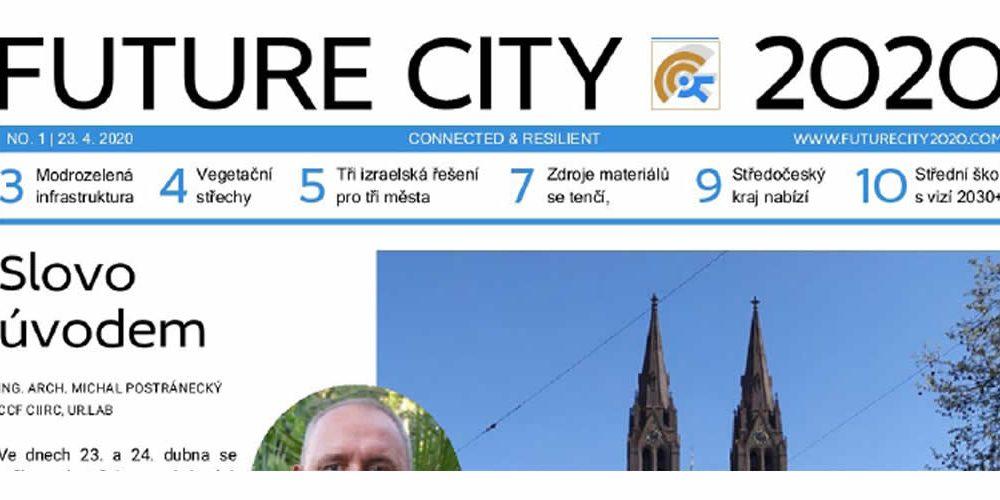 První číslo novin FUTURE CITY 2020