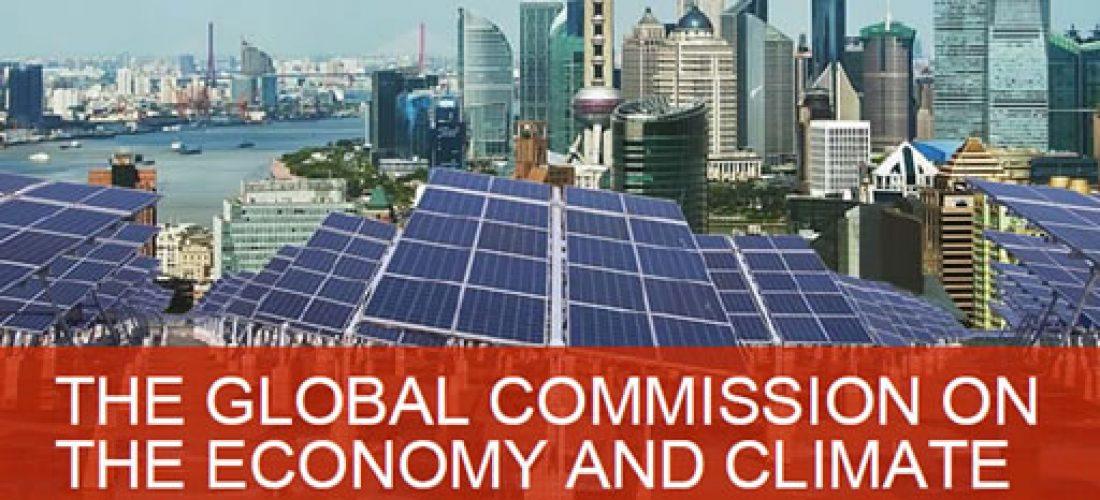 """Prezentace Zprávy zvláštní Komise vytvořené GS UN: """"New climate economy"""""""