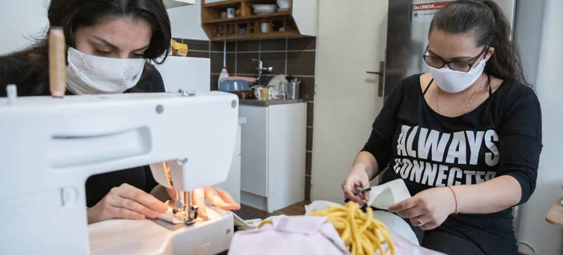 Romská komunita vČesku se zapojila do reakce na koronavirovou krizi
