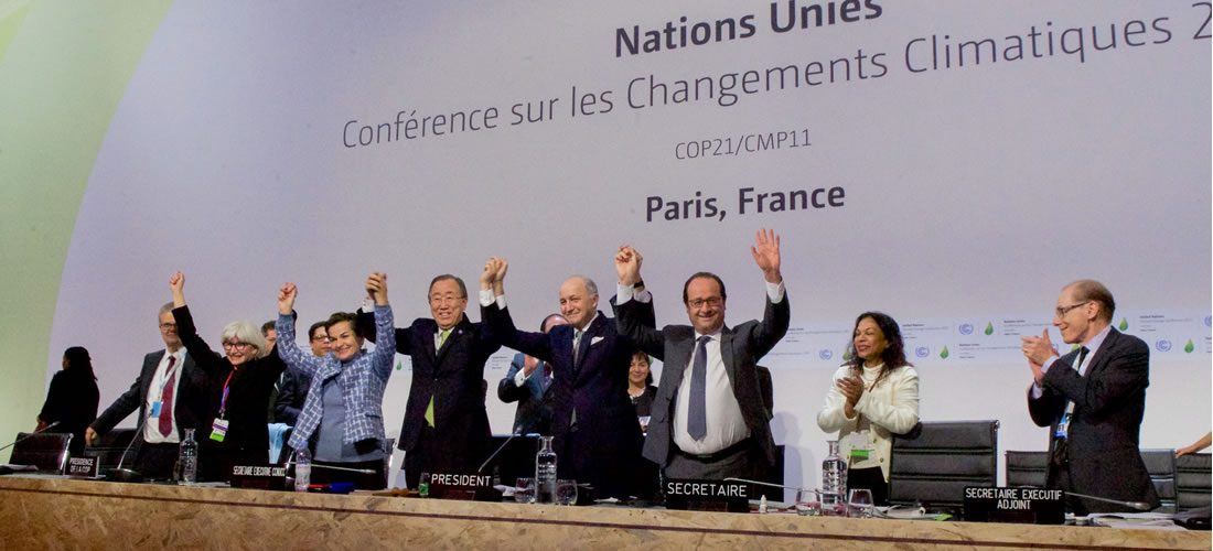 """Paris Agreement update: A possible """"entry in force"""" this year"""