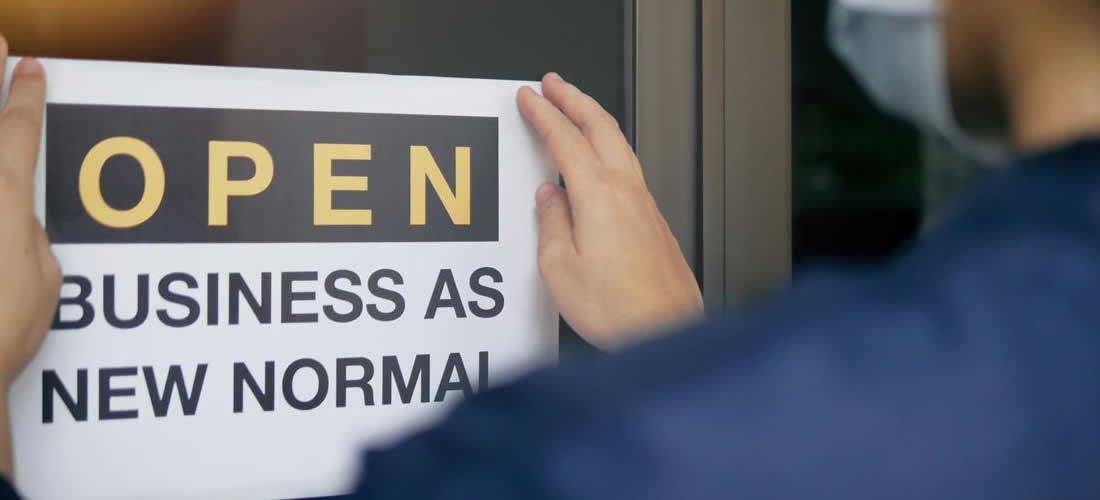 Návrat knovému normálu – zdraví zaměstnanců a zotavení firmy (anglicky)