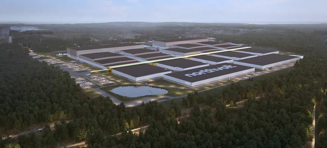 Švédský Northvolt zahajuje cestu kekologizaci výroby baterií. Příští rok spustí závod na jejich recyklaci