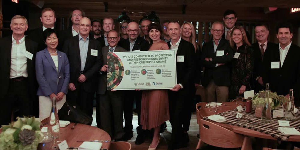 Nineteen leading companies join forces to step up alternative farming practices and protect biodiversity, for the benefit of planet and people