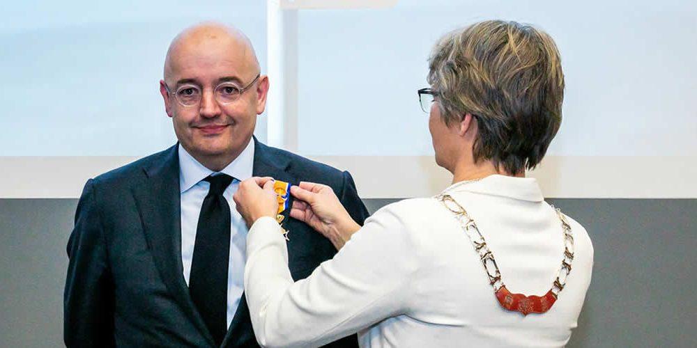Peter Bakker appointed Officer of the Order of Orange-Nassau