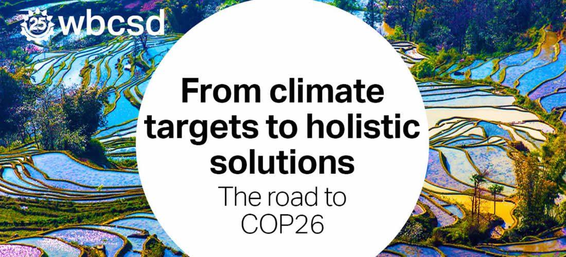 Od cílů voblasti klimatu po holistická řešení (anglicky)