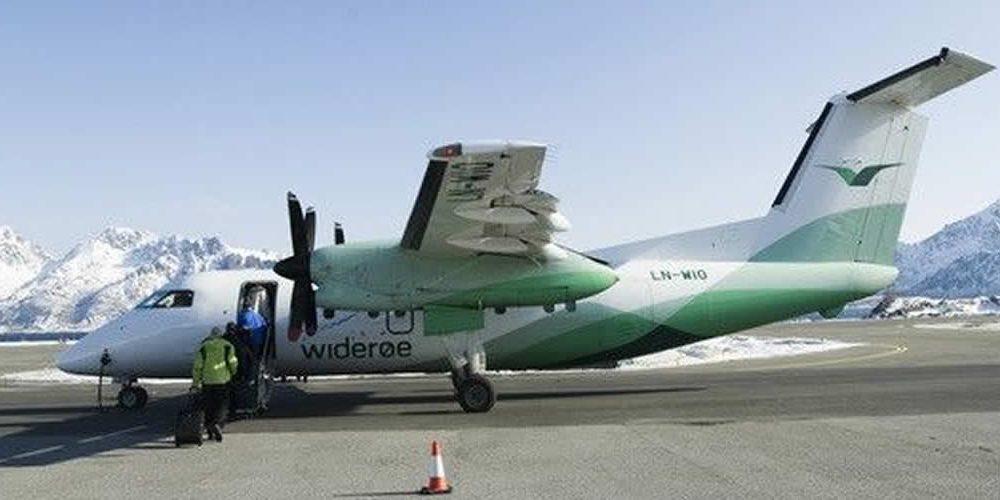 Norská letecká společnost Widerøe teams sRolls-Royce zkoumá lety snulovými emisemi