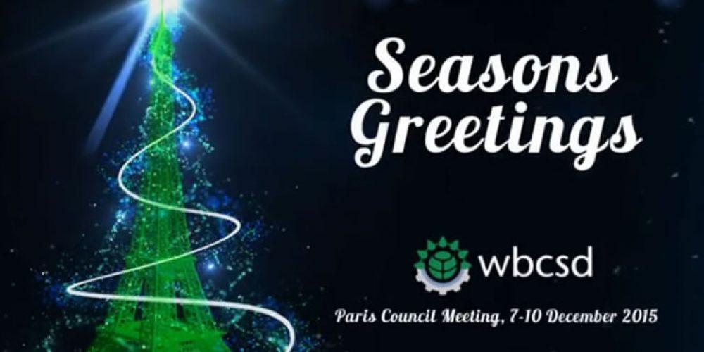 Vánoční přání od WBCSD