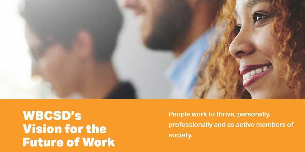 WBCSD's Vision for the Future of Work