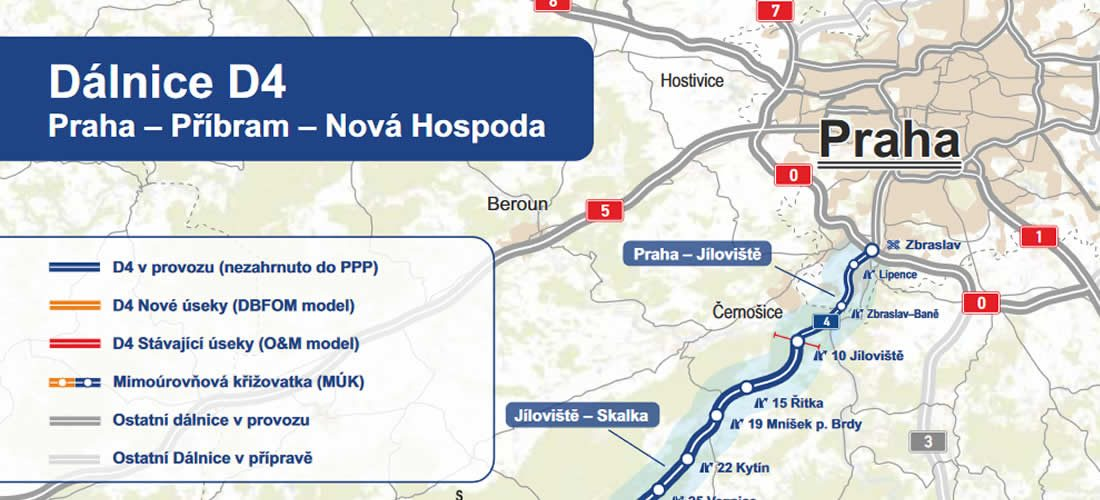 První PPP projekt dopravní infrastruktury vČR dostal zelenou