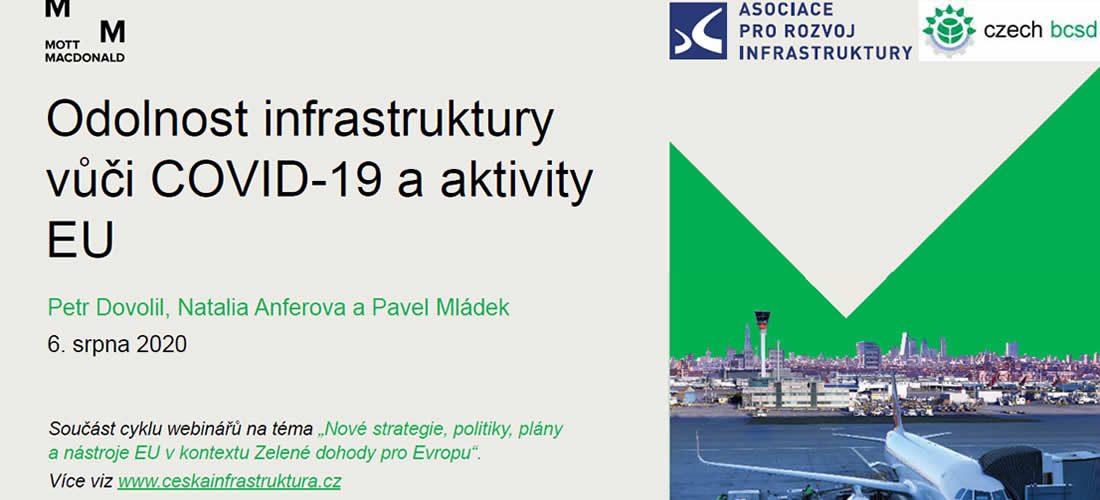 Odolnost infrastruktury vůči COVID-19 a aktivity EU