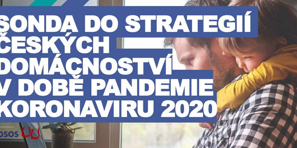 Sonda do strategií českých domácností vdobě pandemie koronaviru 2020