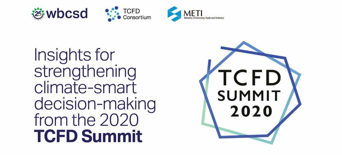 Doporučení TCFD nadále hrají klíčovou roli při urychlení přechodu na nízkouhlíkovou společnost (anglicky)
