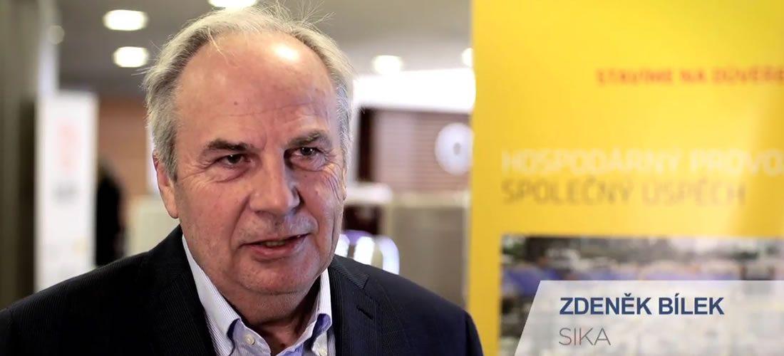 Zdeněk Bílek, SIKA: Stavebnictví 4.0 vyžaduje i digitalizaci státní správy