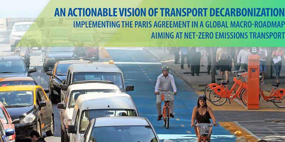 Vize dekarbonizace dopravy (anglicky)