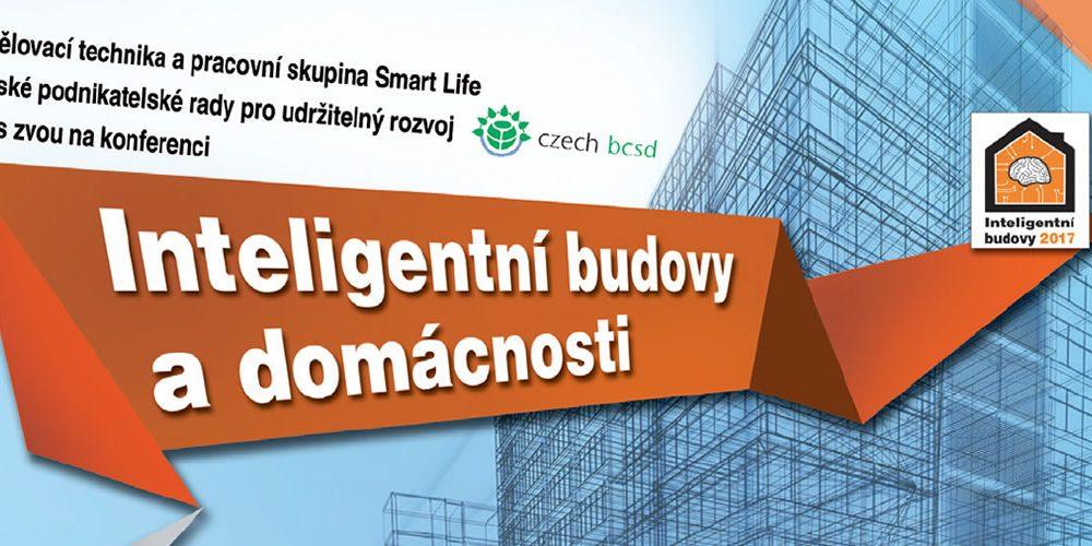 Pozvánka na konferenci Inteligentní budovy a domácnosti 2017