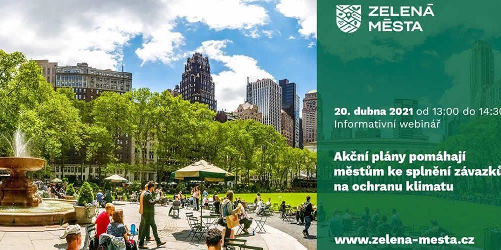 Akční plány pomáhají městům ke splnění závazků na ochranu klimatu