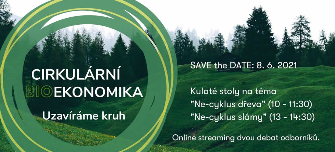 SAVE the DATE: Cirkulární (bio)ekonomika – uzavíráme kruh
