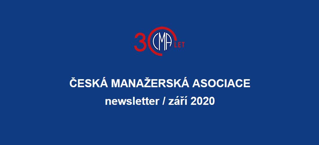 ČESKÁ MANAŽERSKÁ ASOCIACE newsletter / září 2020