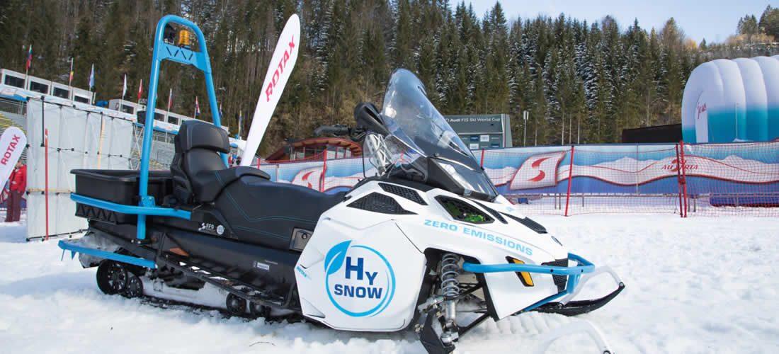 Green hydrogen can power green Alpine tourism