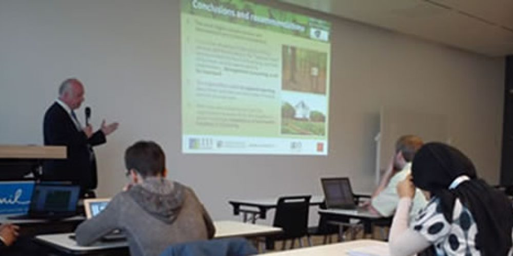 Mezinárodní konference o městských lesích a zeleni