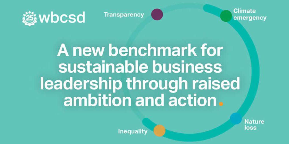 WBCSD zvyšuje laťku pro udržitelné obchodní vedení (anglicky)