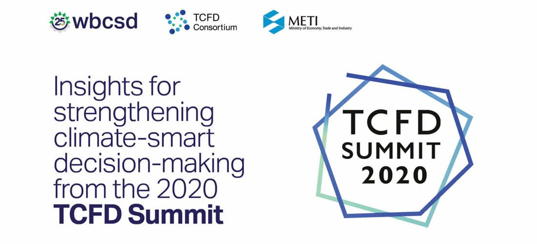 TCFD recommendations continue to play a key role in accelerating the transition to a low-carbon society