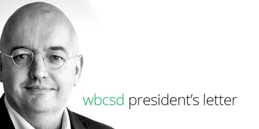 WBCSD president'sletter